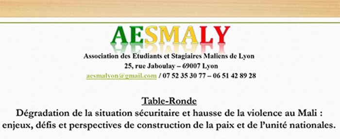 Table-ronde AESMALY